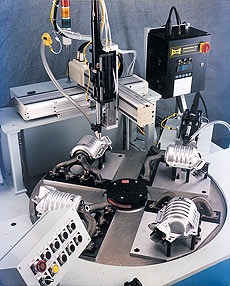 Dual Head Screw Driving Machine